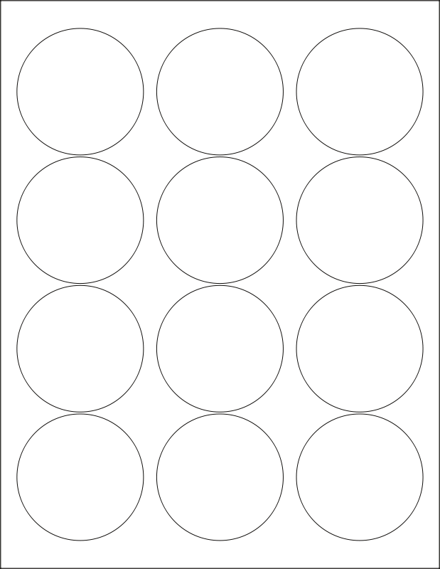 avery template 5247 - round labels template