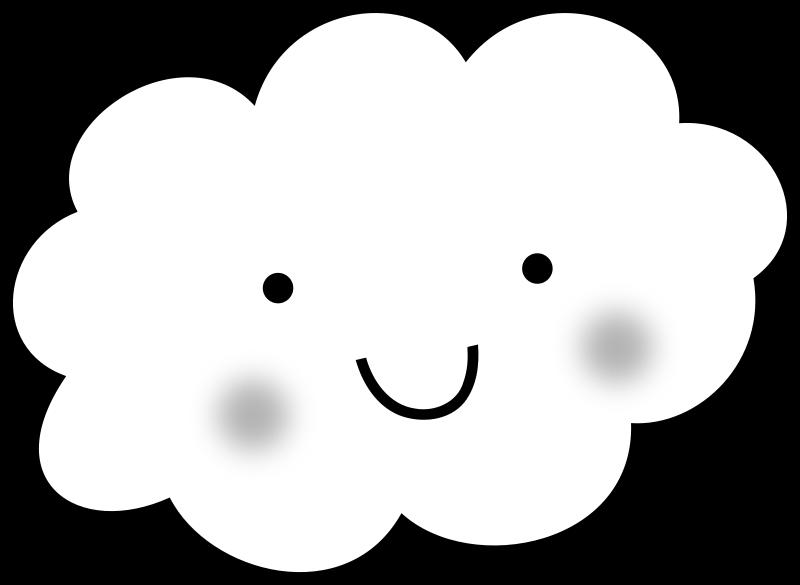 Free Cute Cloud - Coloring Book