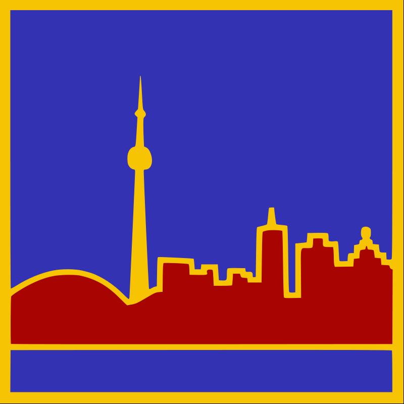 Free Stylized Toronto Skyline