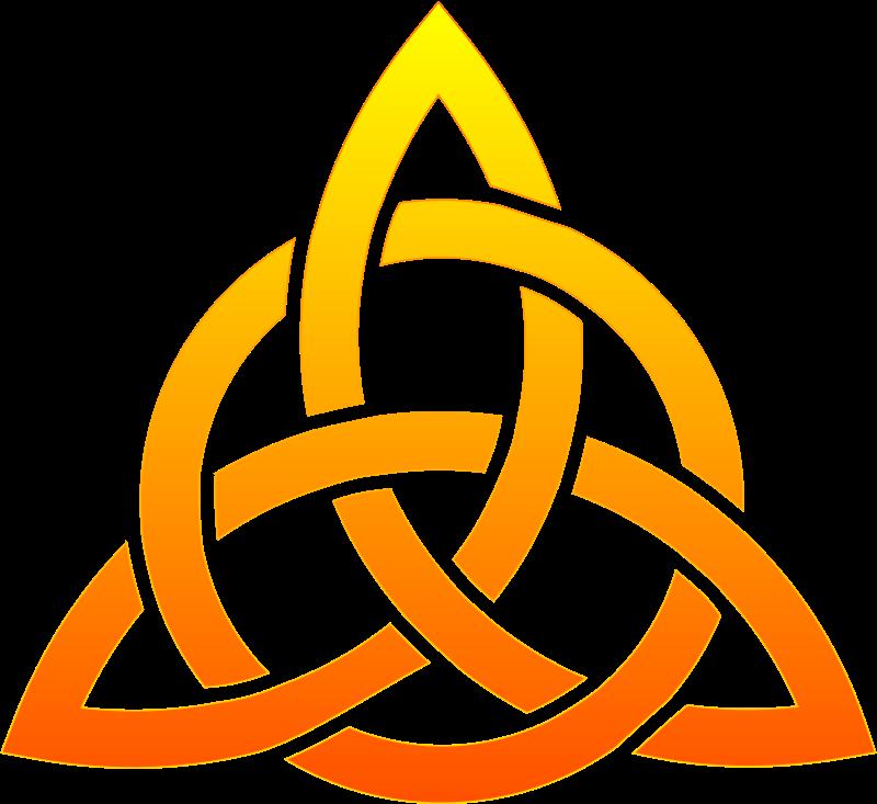 Free Celtic trinity knot