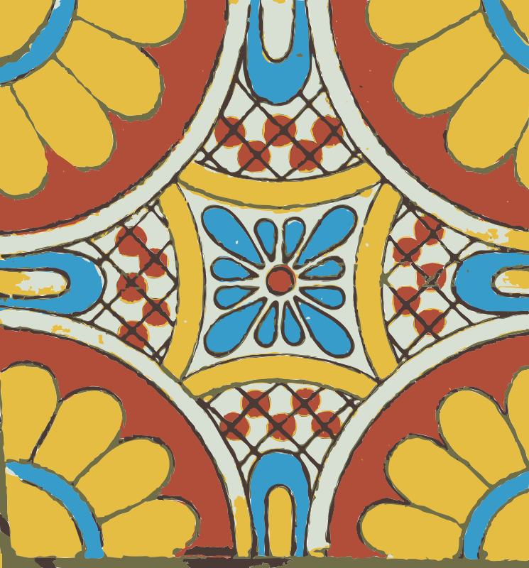 Free Mexican tile 03