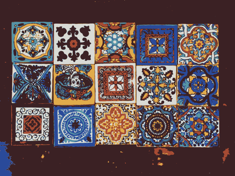 Free Mexican tiles