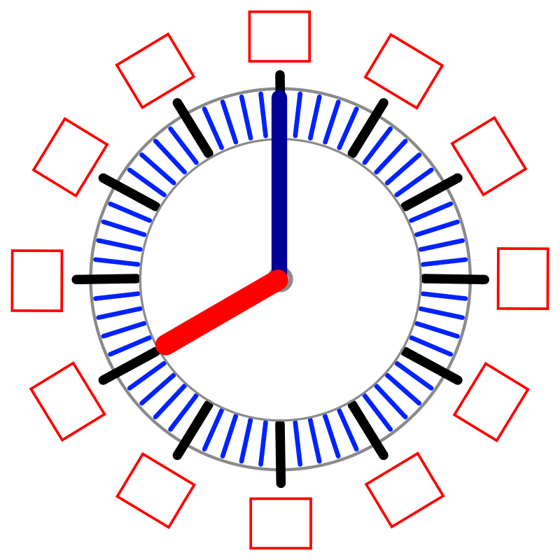 Free Learning Clock 1