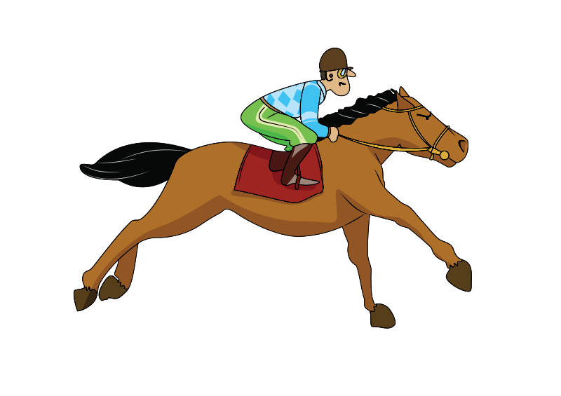 Free Galloping horse
