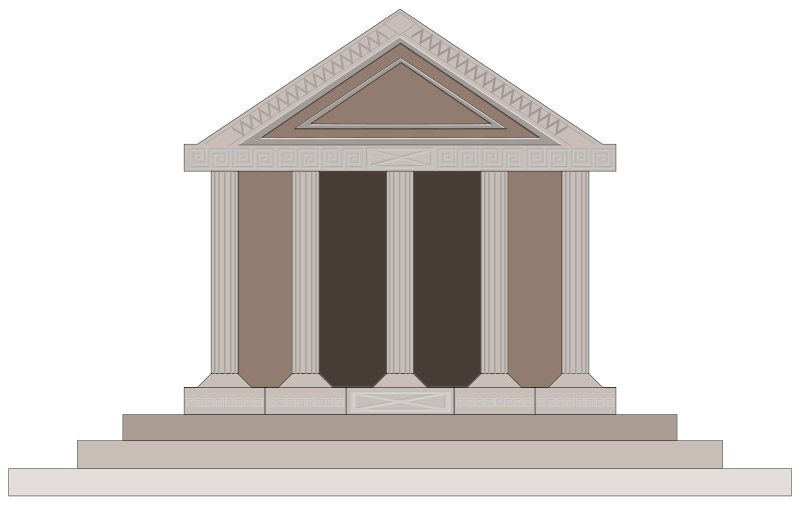 free clipart parthenon guseinstein rh 1001freedownloads com