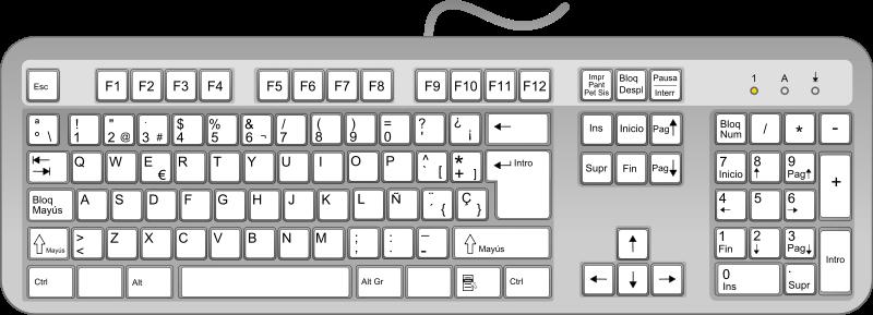 Free Spanish keyboard