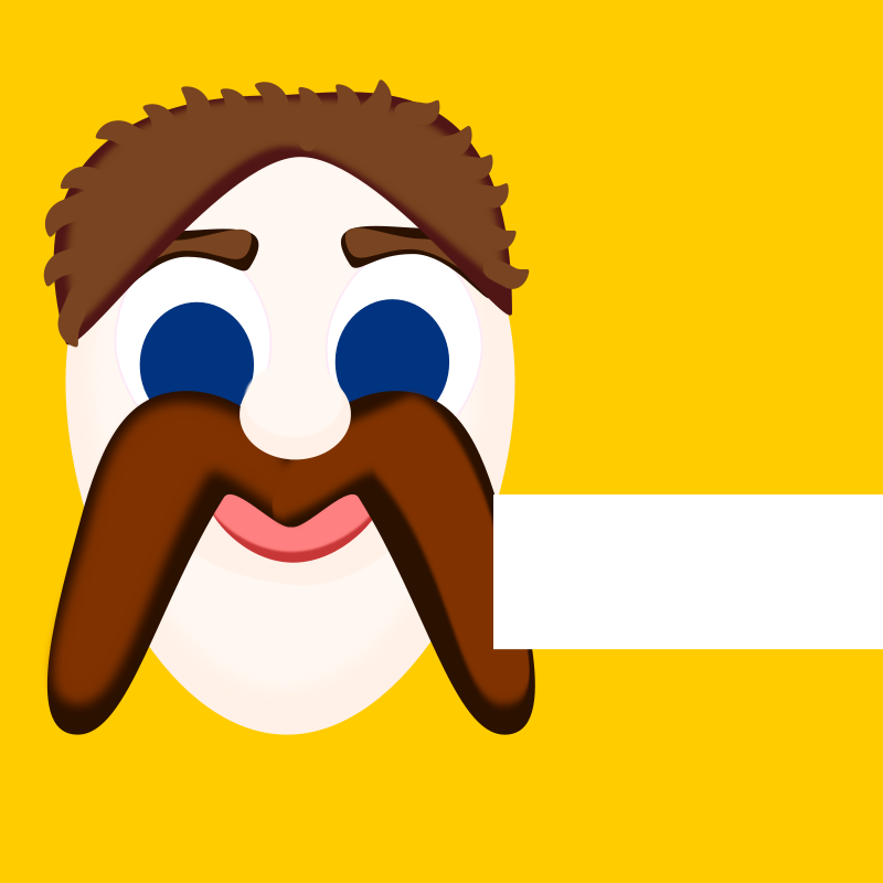 Free M is for Moustache, 01