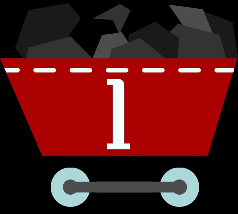 Free Vagón de carbon. Coal wagon