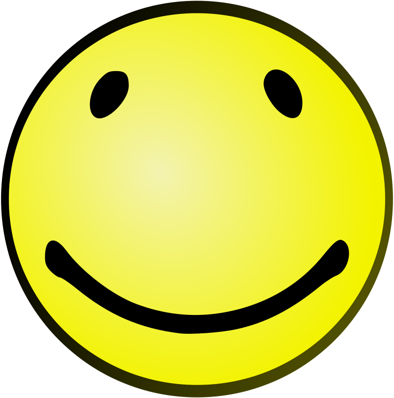 Free Clipart: Oval Smile | Arvin61r58