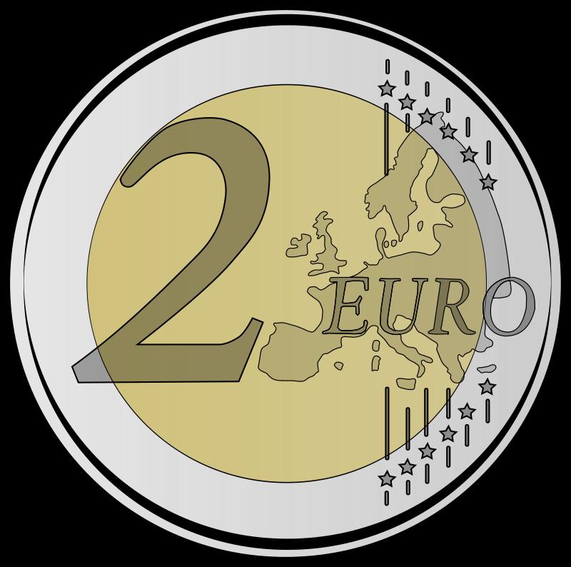Free 2 euro coin