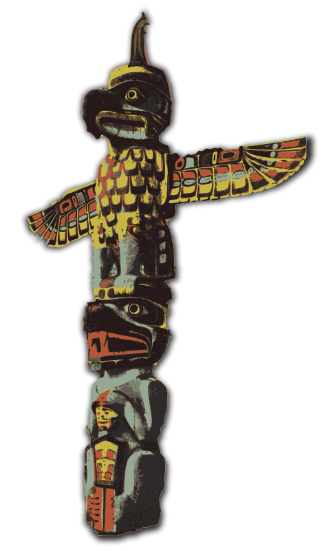 Free Totem Pole - Colour