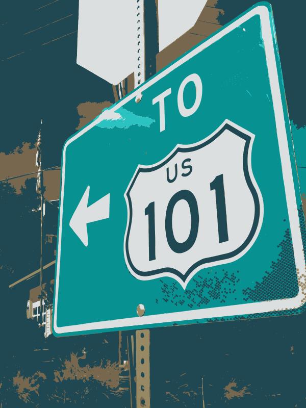 Free 101 sign