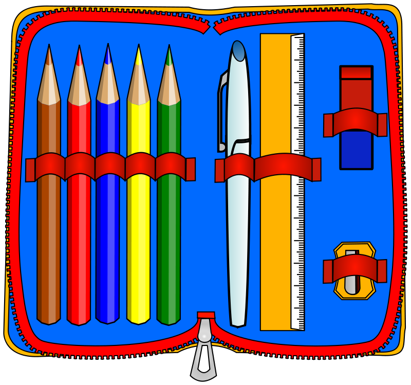 Image result for pencil case clipart