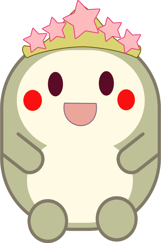 Free Clipart: Crowned critter | anarres