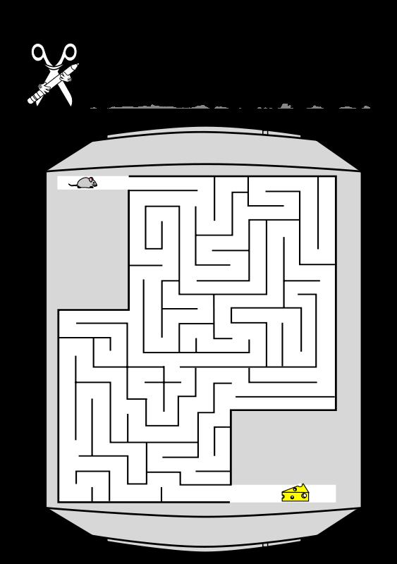 Free CB boring day - Site Maze 1