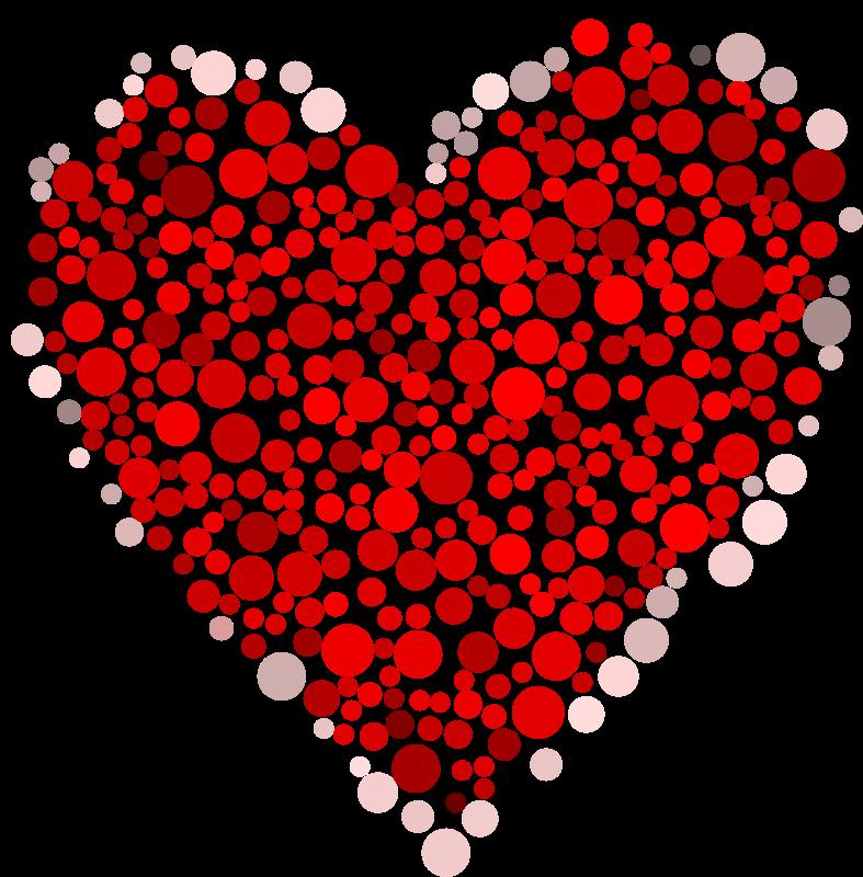 Free Heart Dots
