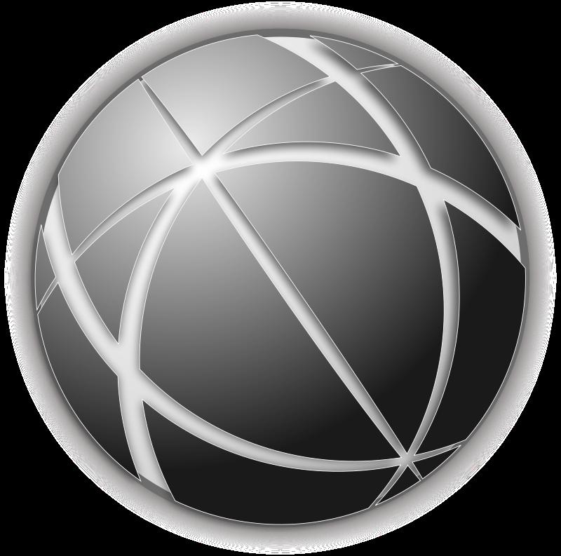 Free Globe Gray