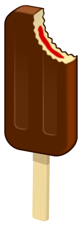 Free Popsicles Chocolate
