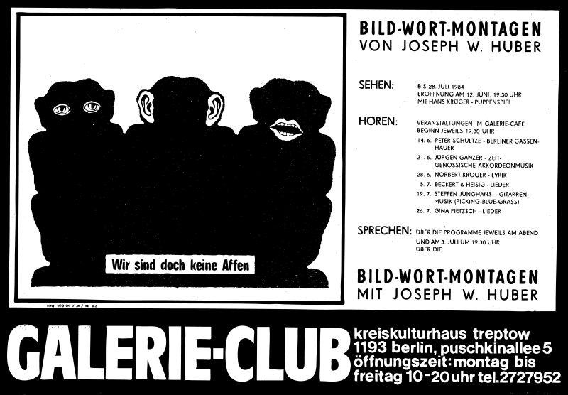 Free Posters 1977-1988 No. 67