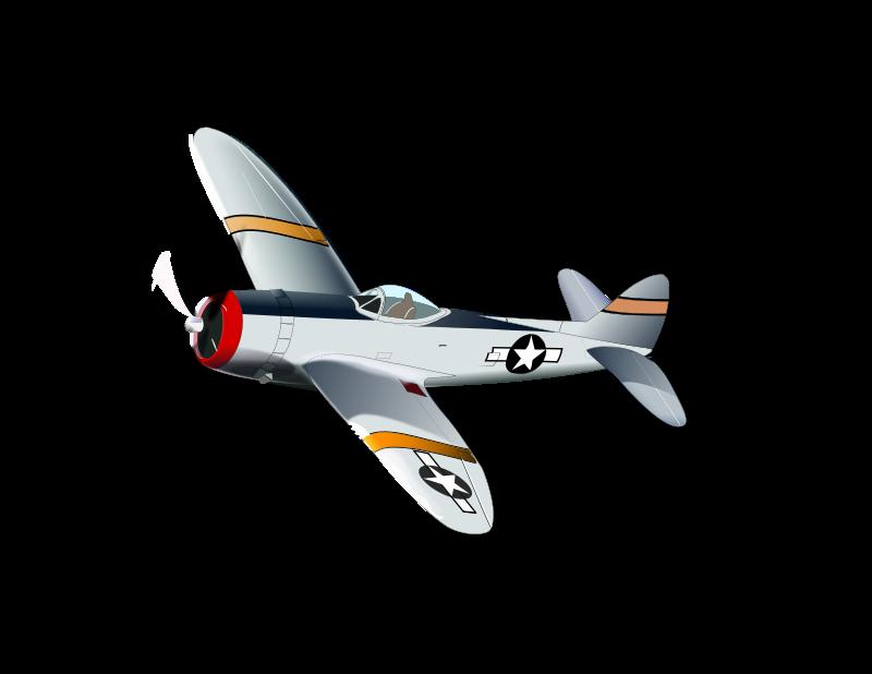 Free Clipart: P47 Thunderbolt | PolyLingua