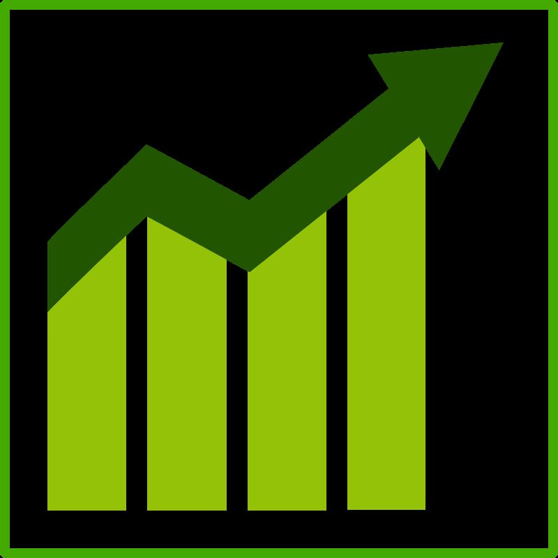 Free eco green growth icon