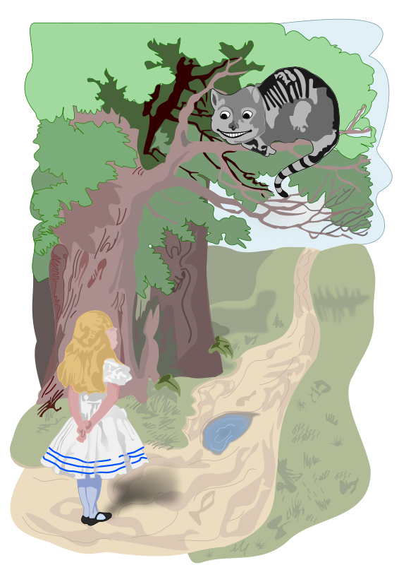 Free Alice and the Cheshire Cat
