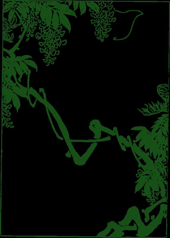 Free Asian Vines - Split Frame