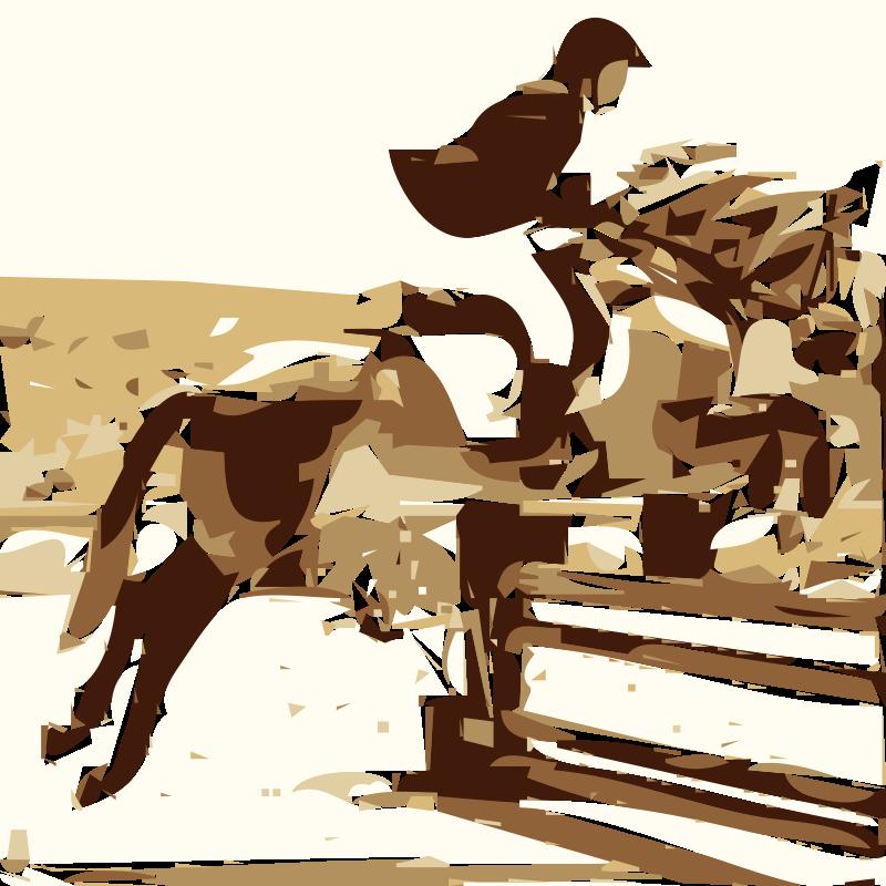 Free horse-riding