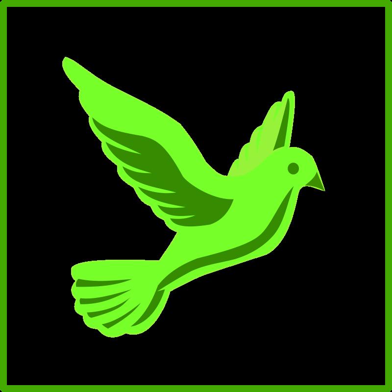 Free eco green peace icon