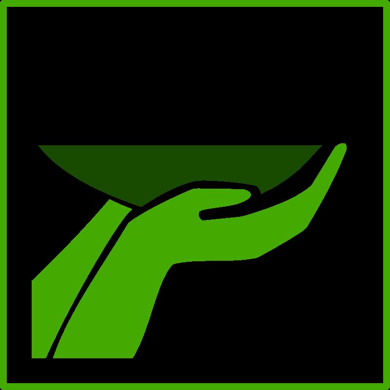 Free ECO green food icon