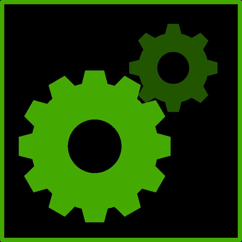 Free eco green machine icon