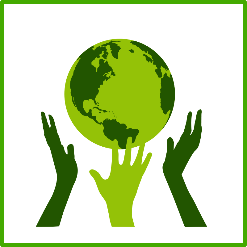 Free eco green solidarity icon