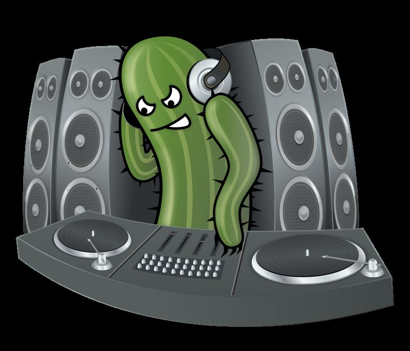 Free DJ Cactus