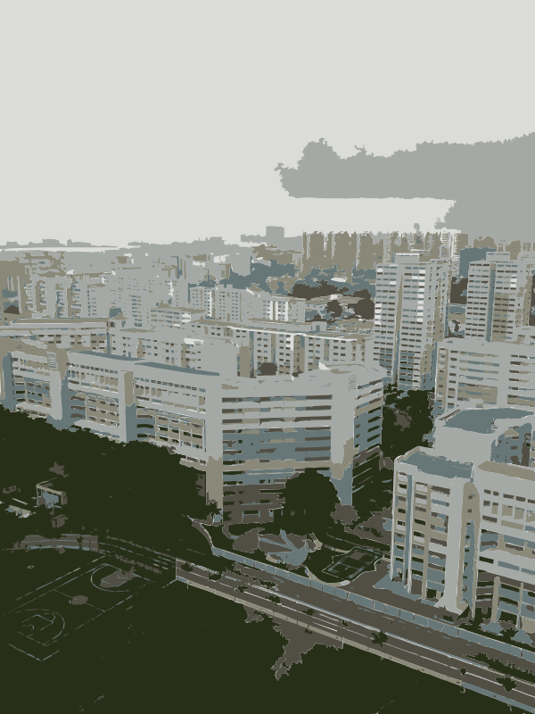 Free Singapore sky view 1