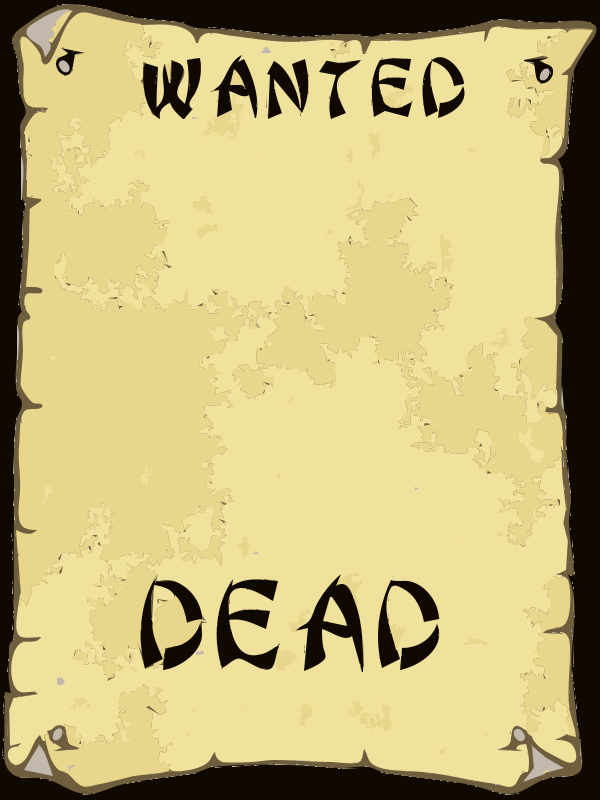 Free WANTED POSTER 4