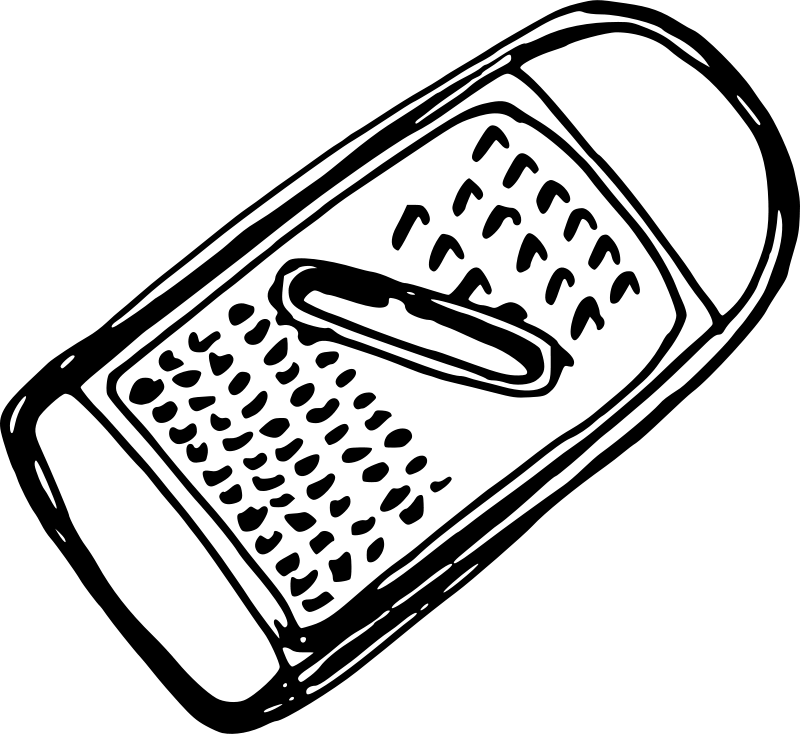 Free Clipart: Grater   jiangyi_99