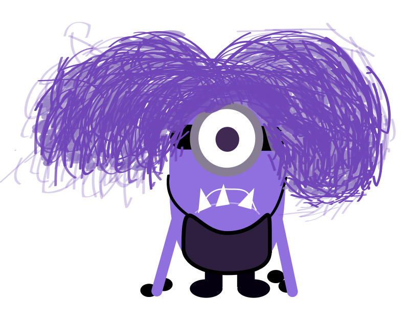 Free Clipart: Purple Minion | adrielhojh