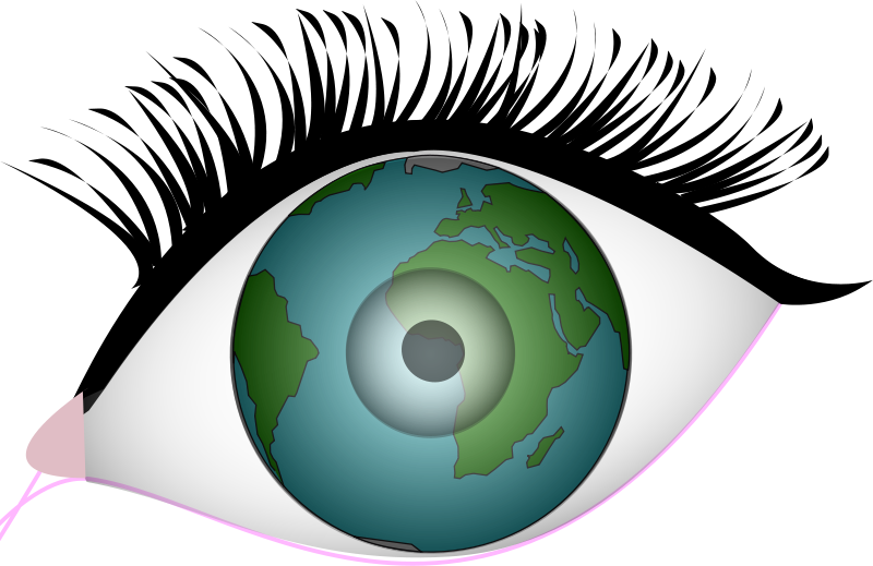 Free eyes of the earth