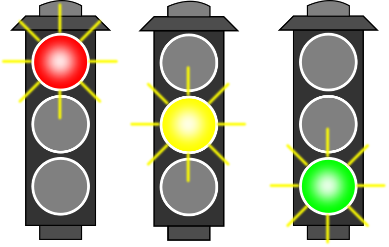 Free Traffic Light (RYG)