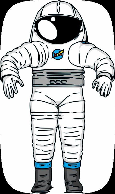 Free NASA Mark III Astronaut Space Suit