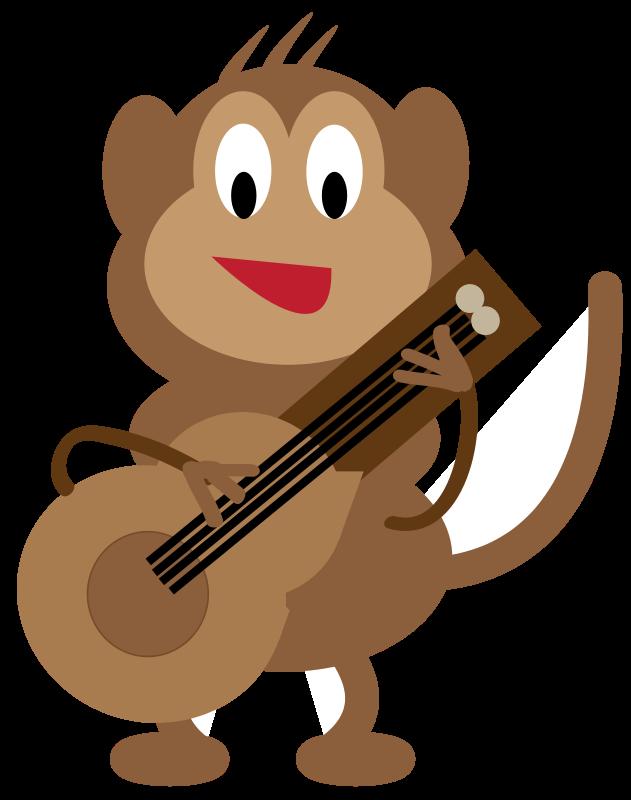 Free Monkey Guitarist