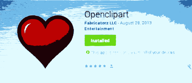 Free NEW: Openclipart for Android Released. Give some love to your favorite clip art and artists