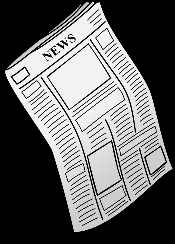 Free Clipart: Newspaper | gustavorezende