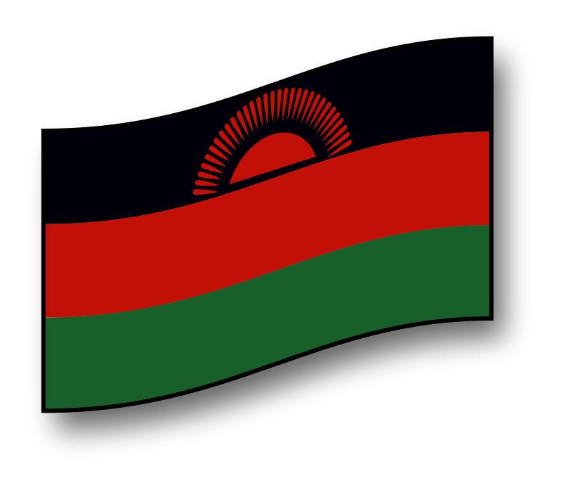 Free clickable Malawi flag