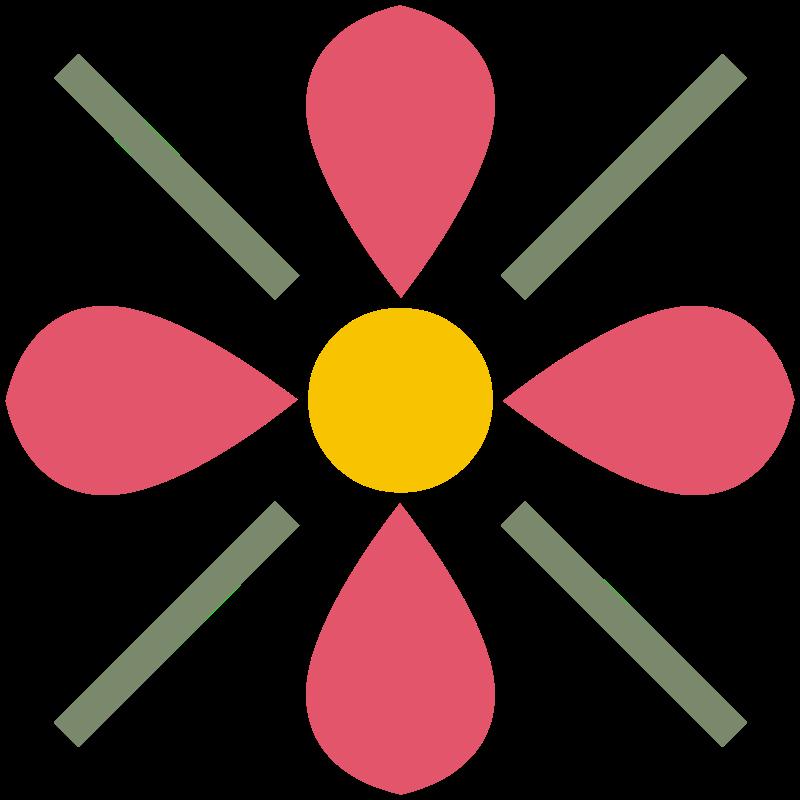 Free Flower Ornament