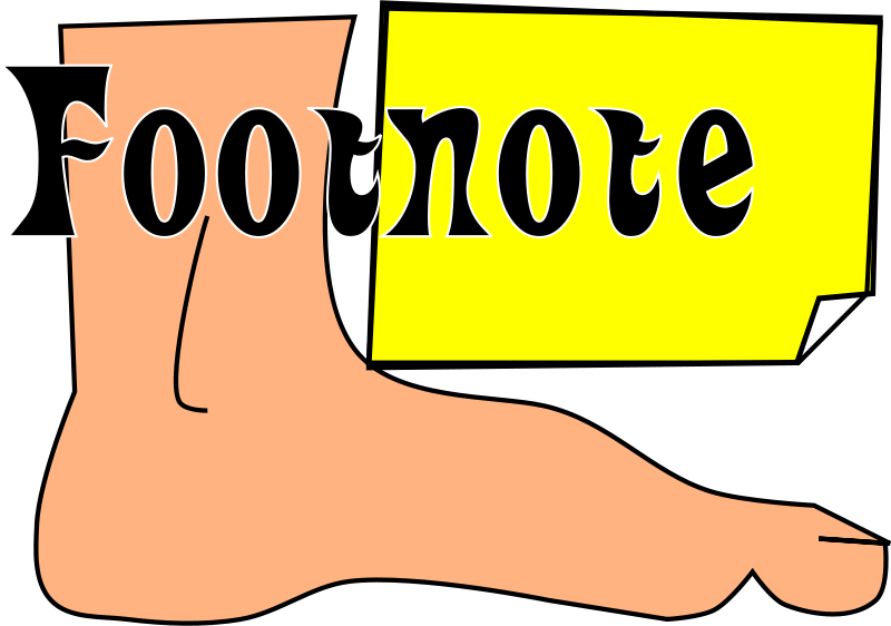 how to add footnotes to powerpoint