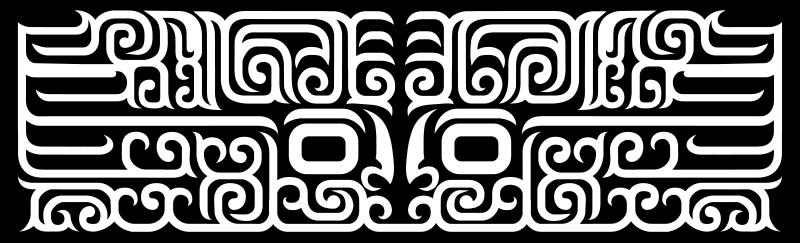 Free The motif kuei dragon