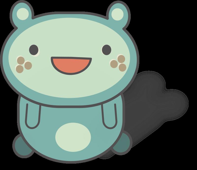 Free Cute round-eared creature