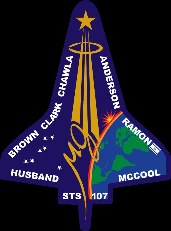 Free STS-107 Flight Insignia
