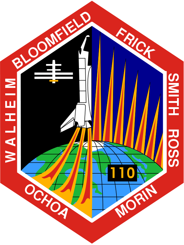 Free STS-110 Patch